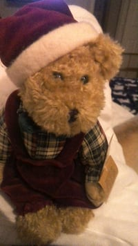 """Vintage Teddy Bear from Miss Elle's Collection """"Take us Home!"""" By Artisan Flair, Inc. Las Vegas"""