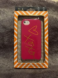 Hot pink and gold iPhone 5 case  Bayonne, 07002