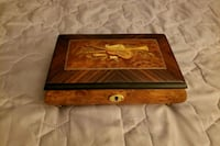 Music & jewelry box. Hand crafted made in Italy.  Like new condition.  Stratford, 06614