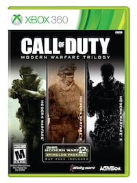 Call of Duty games Xbox 360 (OBO)