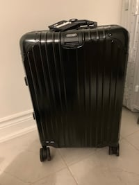 Rimowa Topas in black aluminum carry-on size Mississauga