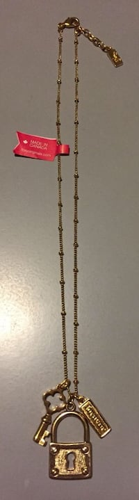 "Foxy Forever Locks Gold Necklace 18"" Calgary, T3J 0H5"