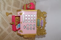 girl's pink and gold toy cash register Annandale