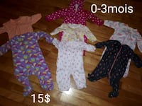 baby's assorted clothes 856 km