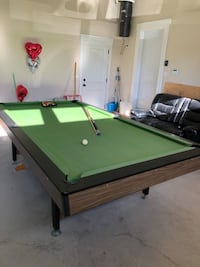 green and brown pool table 3732 km