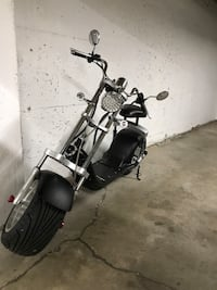 Harley style electric scooter Vancouver, V6H