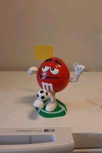 m&m soccer candy dispencer
