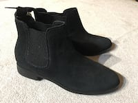 TOMS black leather booties Vancouver, V5R