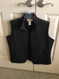 Tehama quilted vest.   Immaculate condition