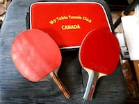 Set of Ping Pong Racket N case.  Richmond Hill, L4C 2B4