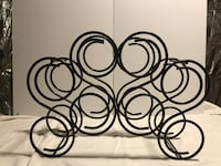 Decorative Iron Wine Rack