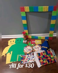 lego birthday decoration all for $ 30 Olney