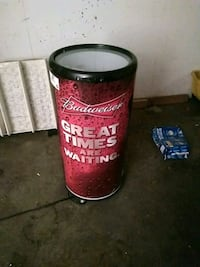 Budweiser barrel electric fridge Surrey, V3T 2X7