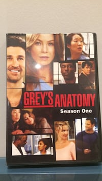 Grey's Anatomy Season one DVD 556 km