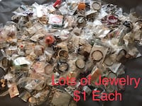 Lots and Lots of Nice Pre-owned Fashion Jewelry, $1 each, not junk Chesapeake, 23320
