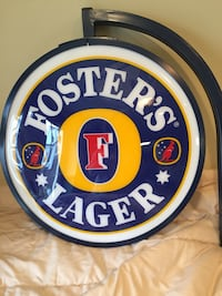 foster's lager signage Fairfax, 22030