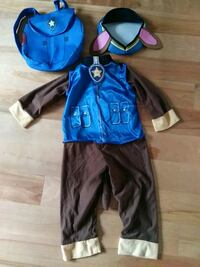 J7A 0A4 Chase halloween costume size 2-3 Rosemère, J7A 0A4