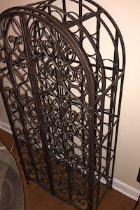 Pier One wrought iron wine rack Great Falls, 22066