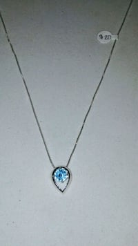 New Authentic silver necklace-$12 Tucson, 85706