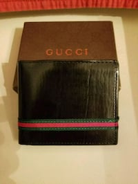 black and red leather wallet Royal Palm Beach, 33411