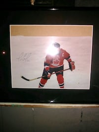 Hockey picture Team Canada autographed 3737 km
