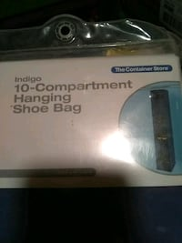 The Container Store 10 compartment shoe bag 169 mi