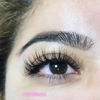 Classic eyelash extentions $75 full set Toronto, M9V 4T5
