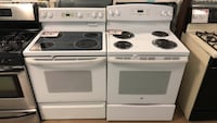 Gas or electric stove 90 days warranty