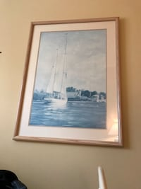 Sailboat print Columbia, 21044