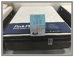 King Size Plush Euro Top Mattress Set Brand New still in plastic