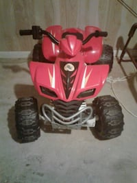 red and black ATV ride-on toy Clinton, 20735