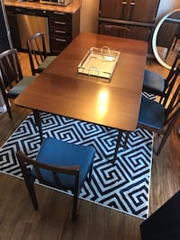 Authentic Mid Century Dining Table and chairs Edmonton, T5P 4H5