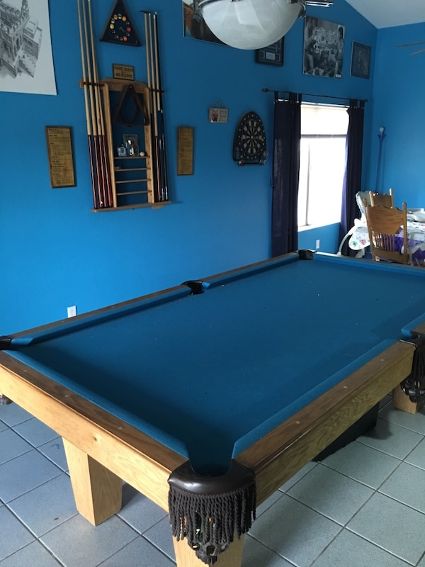 Used Buckhorn Pool Table For Sale In Peoria Letgo - Buckhorn pool table