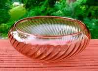 Lovely Antique Rose Engraved Dish Falls Church, 22046