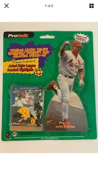 1999 Mark McGwire Protalk Talking Cards and Stand-up St. Louis Cards Beltsville, 20705