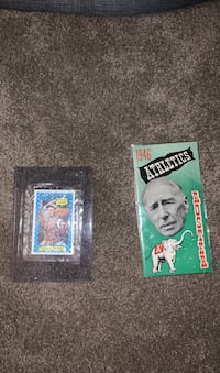 Vintage Baseball Card and 1946 Athletics Roster