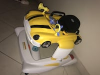 baby's white and yellow activity walker Belmore, 2192