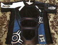 NERF Dart Tag Official Competition Jersey (L/XL Blue) Visalia, 93292