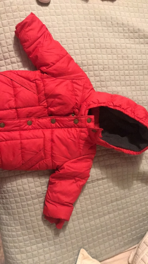 59c55f44518b Used Red baby Gap coat. 18-24 months for sale in New York - letgo