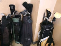 Four Sets of Golf Clubs for Sale. Norfolk, 23503
