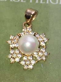 Fashion jewelry pendant gold filled