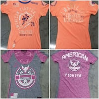 Lot of 2 American Fighter Tees Vancouver, 98661
