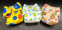 3 brand new cloth diapers Milton, L9T