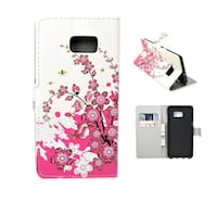 white and pink leather flip case Toronto, M1C 3V1