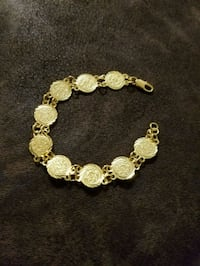 18k plated coin bracelet  Woodlawn, 21244