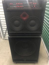 Bass Guitar Amp and Cabinet Capitol Heights, 20743