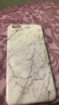 white and grey iPhone case