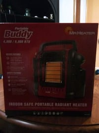 New Mr. Heater Portable Buddy Heater