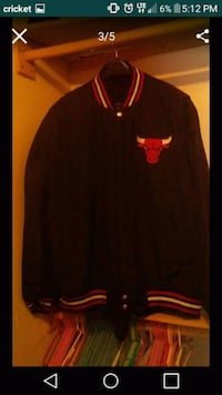 black and red Chicago Bull jersey jacket screensho Rio Rancho, 87124