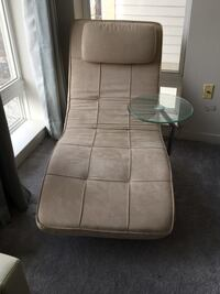 Chaise lounger with removable side table Silver Spring, 20910